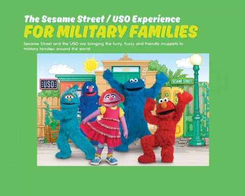 Sesame Street / USO Experience for Military Families