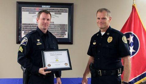 Sgt Rodney Lockerman and CPD Chief Al Ansley