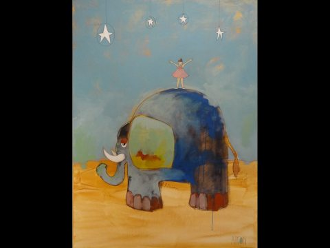 The Ballerina and the Elephant by Aaron Grayum
