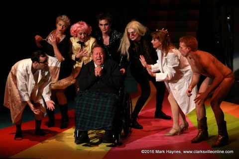 The Rocky Horror Show is playing at the Roxy Regional Theatre tonight through Saturday.