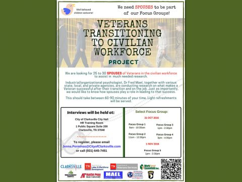 Veterans Transitioning to Civilian Workforce Project