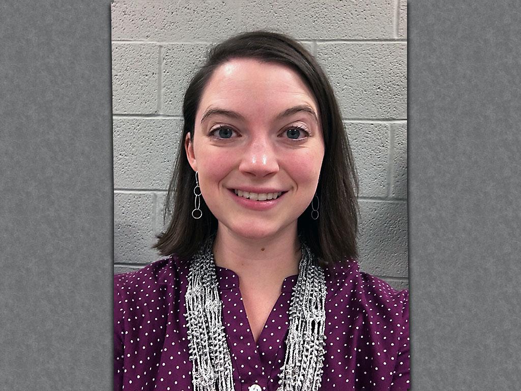 Northeast Middle School Teacher Whitney Joyner