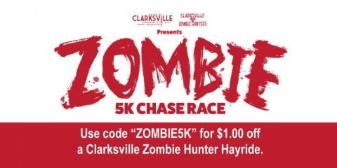 Zombie 5K Chase Race set for October 29th.