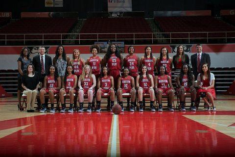 2016-2017 APSU Women's Basketball Team