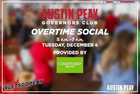 2016 APSU Governors Club Overtime Social