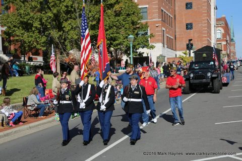 Clarksville-Montgomery County Veterans Day Parade