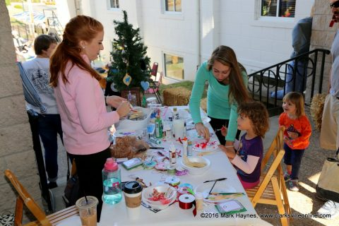 Crafts for the kids was just one of the activities at the Fall Festival held by Trinity Episcopal Parish.