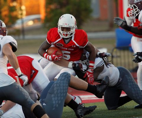 APSU running back Kentel Williams had 399 all purpose yards in loss to Eastern Kentucky Saturday. (APSU Sports Information)