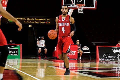 Austin Peay Men's Basketball comes back from 16 down to beat Northern Kentucky at Tarkett Sports Classic. (APSU Sports Information)