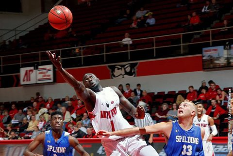 Austin Peay Men's Basketball gets season's fourth win with 82-63 victory over Spalding Saturday night. (APSU Sports Information)