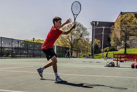 Austin Peay coach Ross Brown announces 2017 Men's Tennis Schedule. (APSU Sports Information)