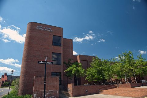 APSU Music / Mass Communication building