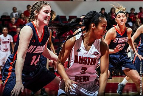 Austin Peay Women's Basketball plays Kentucky Wesleyan Monday night at the Dunn Center. (APSU Sports Information)