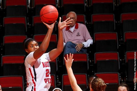 Austin Peay Women's Basketball falls at home to Miami, 73-58. (APSU Sports Information)