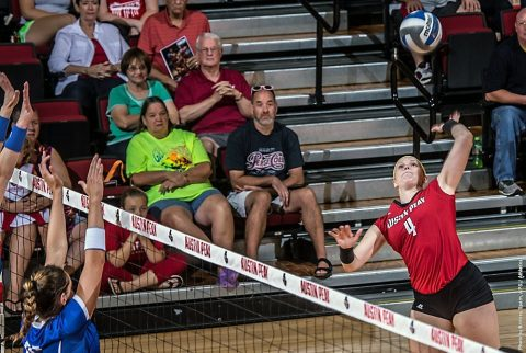 Austin Peay Volleyball ends season this weekend against SIU Edwardsville and Eastern Illinois at the Dunn Center. (APSU Sports Information)