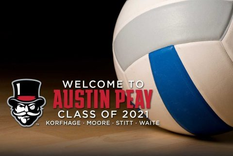 Austin Peay Volleyball teams ink four players during early signing period. (APSU Sports Information)