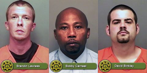 Montgomery County Sheriff's Office Warrant Wednesday focuses on Brandin Lawless, Bobby Carneal, and David Binkley.