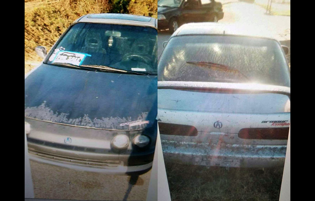 Clarksville Police are trying to locate a stolen 1996 Acura ILS.