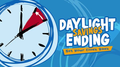 Daylight Saving Time comes to an end