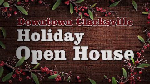 Downtown Clarksville Holiday Open House