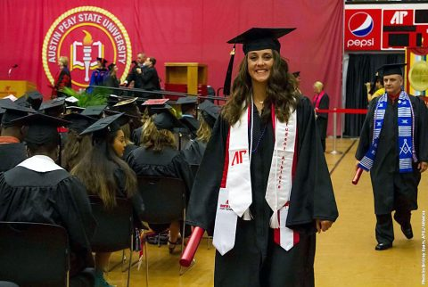 Austin Peay's Athletics Department saw their graduation success rate improve from 79 percent to 82 percent in this year's NCAA graduation success rate report. (APSU Sports Information)