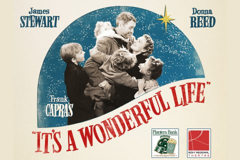 """Planters Bank Presents..."" film series to show ""It's a Wonderful Life"" this Sunday at Roxy Regional Theatre."