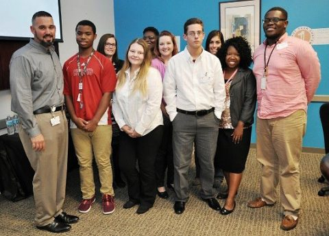 Convergys Corporation participates in Leap Youth Organizations Career Readiness Mock Interview Night.