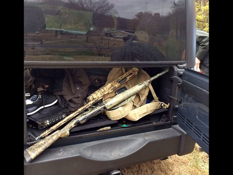 Tennessee Highway Patrol Arrest Two Nashville Men and Recover Stolen Vehicle, Electronics and Loaded Firearms.