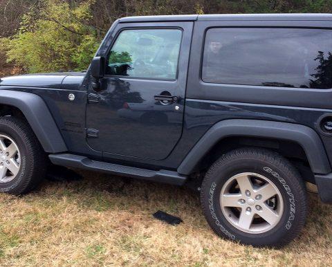 Stolen Jeep.