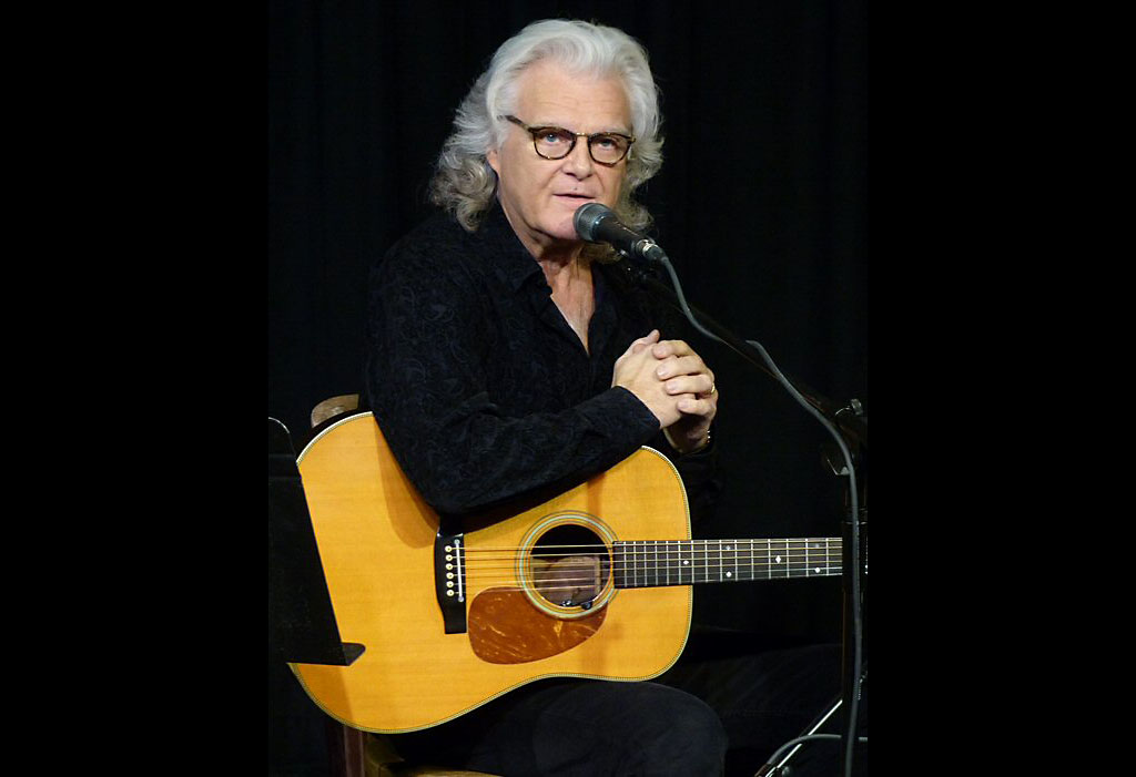 Ricky Skaggs was in story-teller mode in Franklin Tennessee.