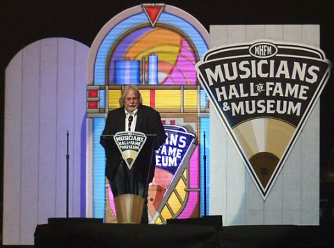The Musicians Hall of Fame and Museum Director - Joe Chambers. (Rich Lynch)