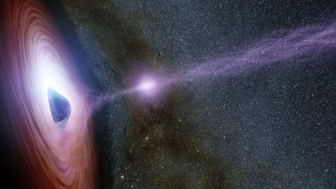 NASA's Swift and NuSTAR Space Telescopes observes huge Flare erupt from Supermassive Black Hole