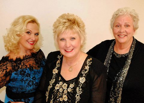 The Queen City Quartet features Deidre Wolfe-Mitchell, Debbie Wilson, Carolyn Riggins.