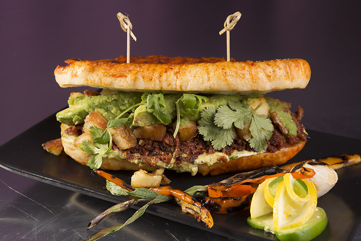 World Food Championship Sandwich entry.