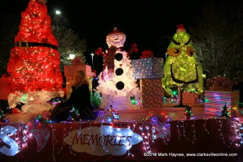 57th Annual Clarksville Lighted Christmas Parade