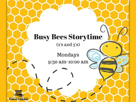 Busy Bees Story Time at Clarksville-Montgomery County Library