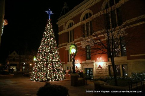 Montgomery County Christmas Tree.