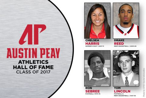 APSU Athletics Hall of Fame Class of 2017