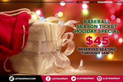 Austin Peay Baseball offers Holiday Special on 2017 Season Tickets. (APSU Sports Information)