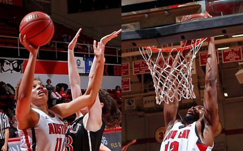 Austin Peay Men and Women's Basketball. (APSU Sports Information)