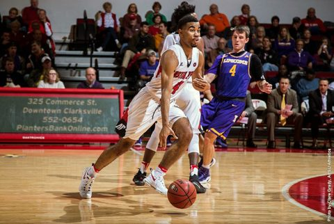 Austin Peay Men's Basketball loses to Lipscomb at the Dunn Center Tuesday night, 99-85. (APSU Sports Information)
