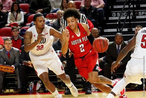 Austin Peay Men's Basketball falls at Western Kentucky Wednesday night, 97-92. (APSU Sports Information)