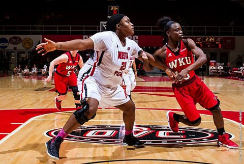 Austin Peay's Tearra Banks reaches 1,000 career points in loss to Western Kentucky. (APSU Sports Information)