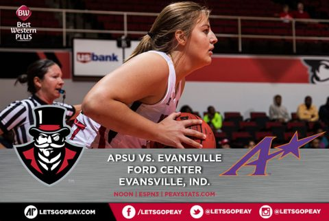 Austin Peay Women's Basketball makes road trip Saturday to Evansville. (APSU Sports Information)