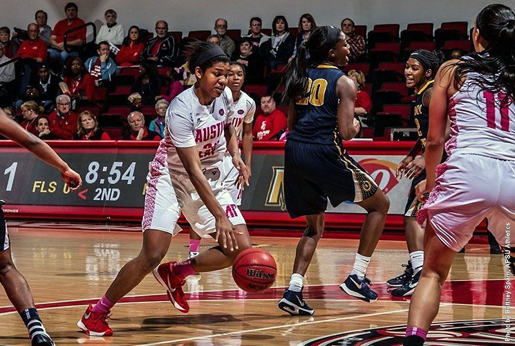 Austin Peay Women's Basketball plays Western Kentucky at the Dunn Center, Saturday. (APSU Sports Information)