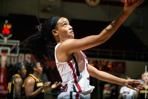 Austin Peay Women's Basketball falls to Old Miss Tuesday night, 66-38. (APSU Sports Information)