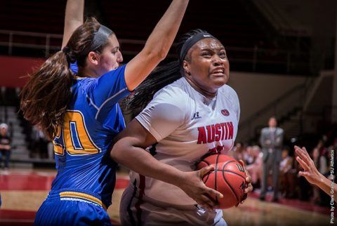 Austin Peay Women's Baskeball falls at home to Morehead State, 81-71. (APSU Sports Information)