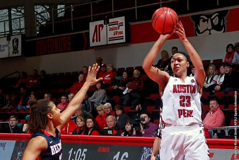 Austin Peay Women's Basketball lose to Belmont 80-71 at the Dunn Center Saturday afternoon. (APSU Sports Information)