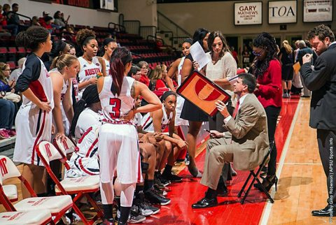 Austin Peay Women's Basketball hosts Morehead State Thursday night at the Dunn Center. (APSU Sports Information)