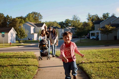 Campbell Crossing housing community on Fort Campbell